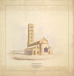 Perspective view of Trinity Church, Karachi (Sind)
